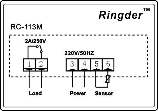 Схема реле терморегулятора