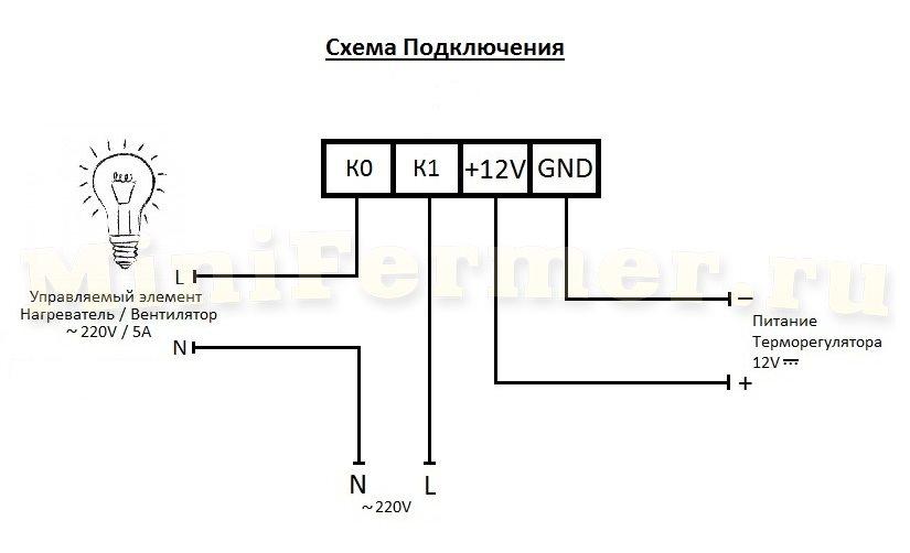 терморегулятора: