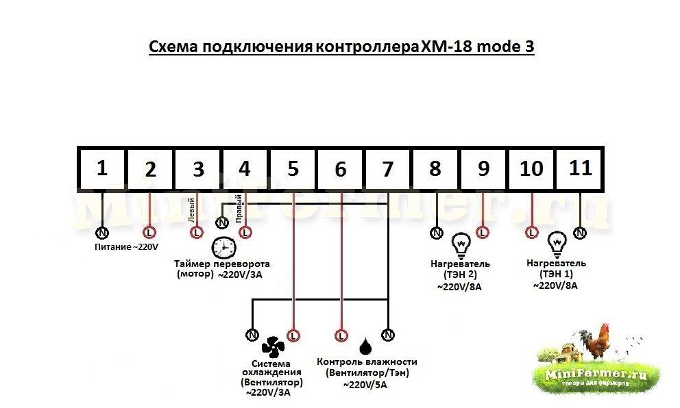 Shema_podklycheniya_kontrollera_XM18_mod3