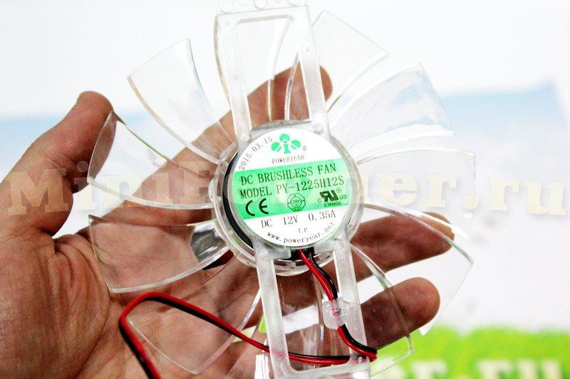 Вентилятор 12В тип 1 (фото 1)