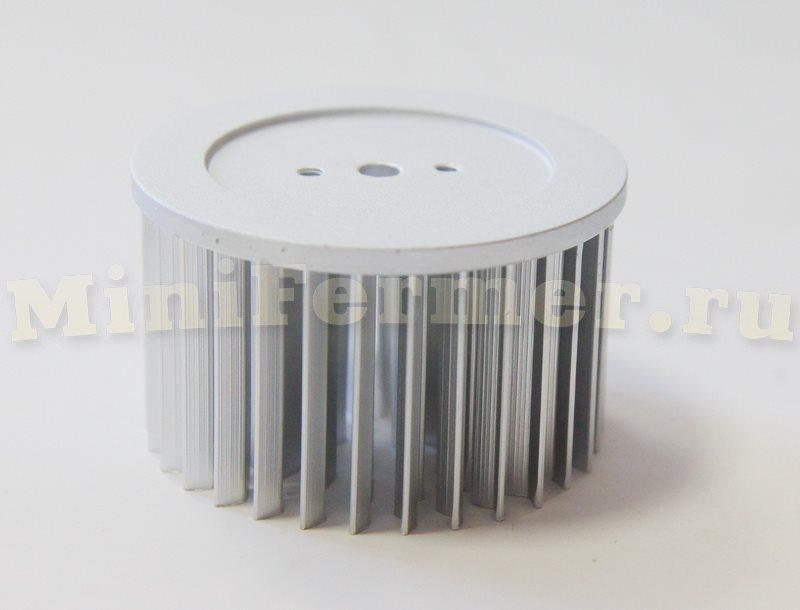 радиатор для светодиодов круглый 50мм