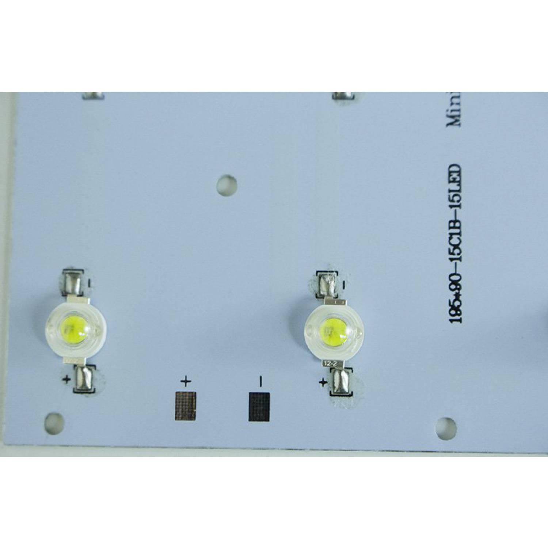 Модуль 15х3Вт LED PCB Full x 3 прямоугольный