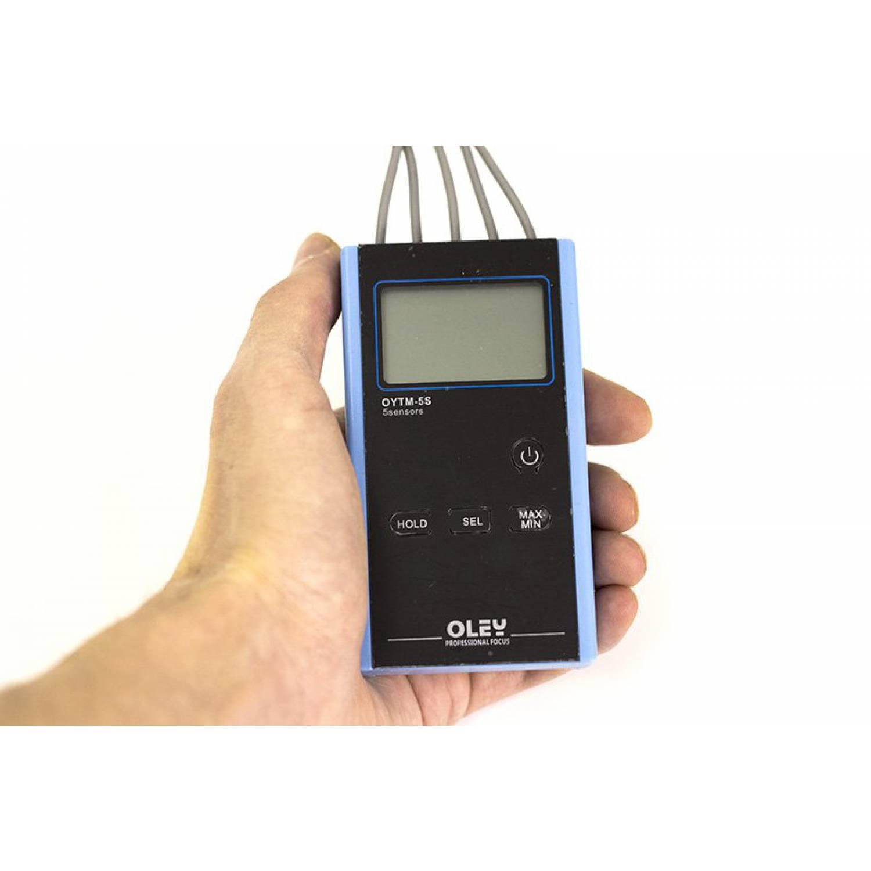 Термометр профессиональный  с 5 датчиками