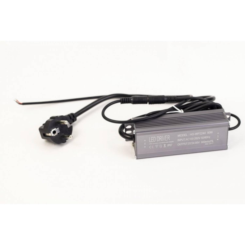 Драйвер для светодиодов 50W 600mA (HG-WP2240/1) с вилкой