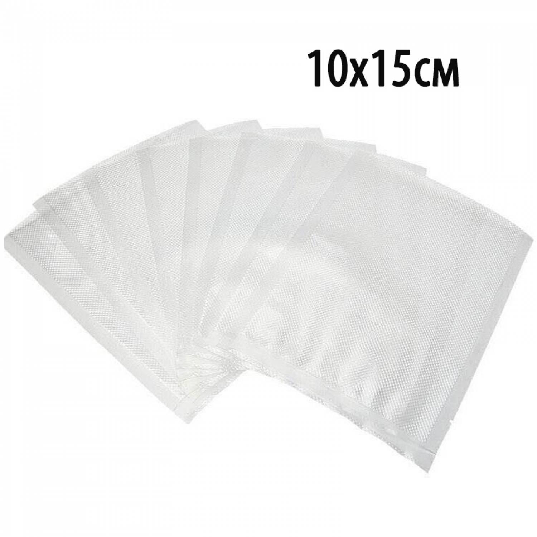 Пакет для вакуумной упаковки продуктов 10х15см (100шт).