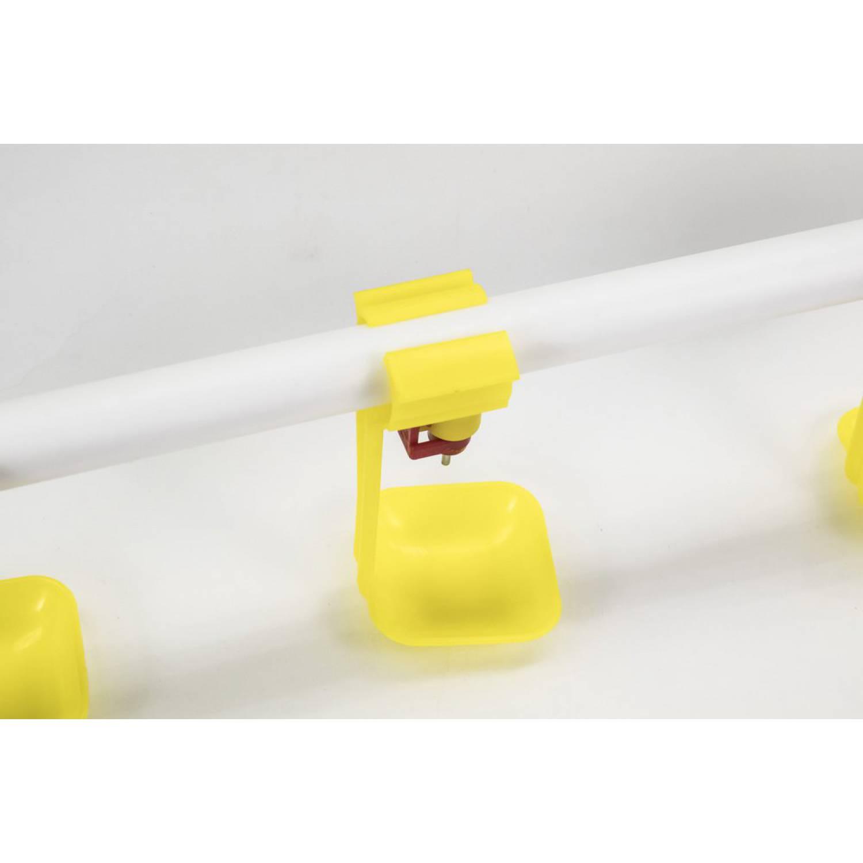 Ниппельная поилка НП16 3шт в сборе (комплект для самостоятельной сборки)