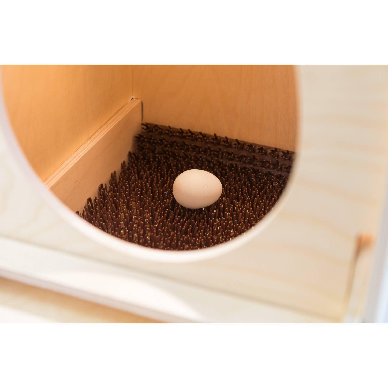 Гнездо для кур несушек с яйцесборником WoodBird EggBOX