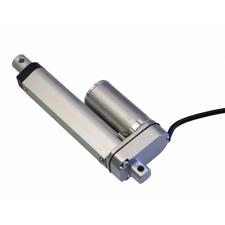 Актуатор (линейный привод) длина 800 мм, питание 12 вольт , нагрузка до 130 кг, скорость 7 мм/сек