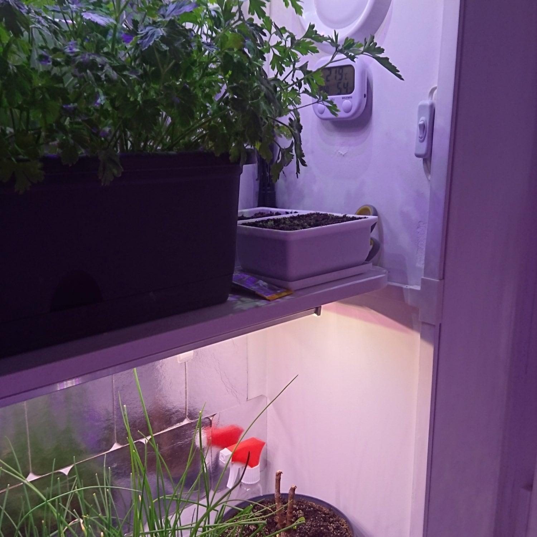 Фитолампа линейная для растений MiniFermer 30 Ватт_100 см 18 led. Спектр на выбор.