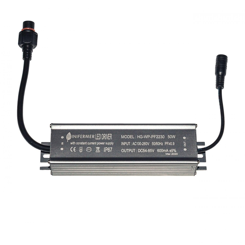 Драйвер для светодиодов 50W 600mA на разъемах