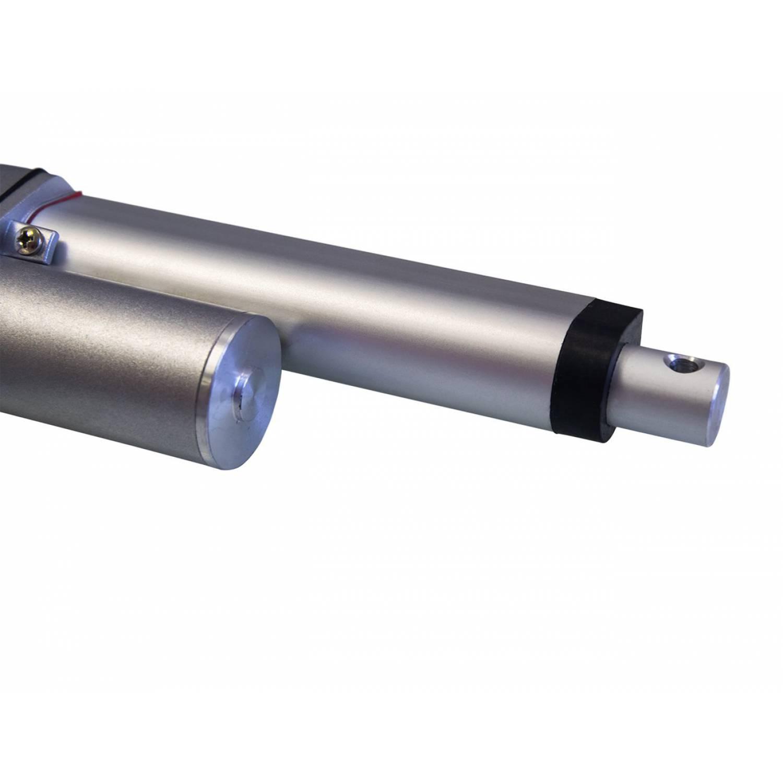 Актуатор (линейный привод) длина 200 мм, питание 12 вольт , нагрузка до 130 кг, скорость 7 мм/сек