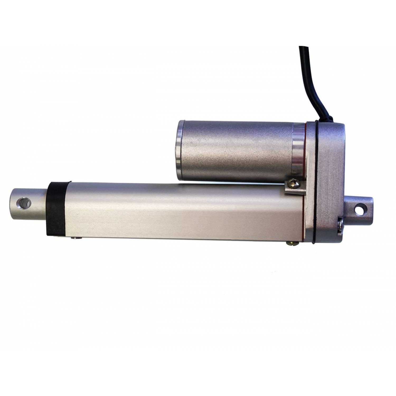 Актуатор (линейный привод) длина 50 мм, питание 12 вольт , нагрузка до 130 кг, скорость 7 мм/сек