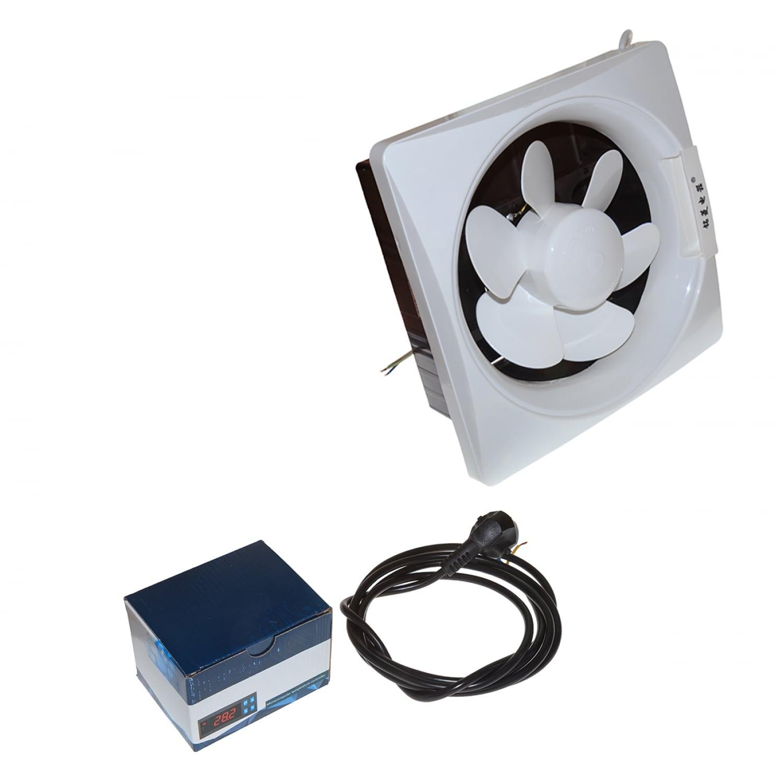Лампа вентилятор для курятника