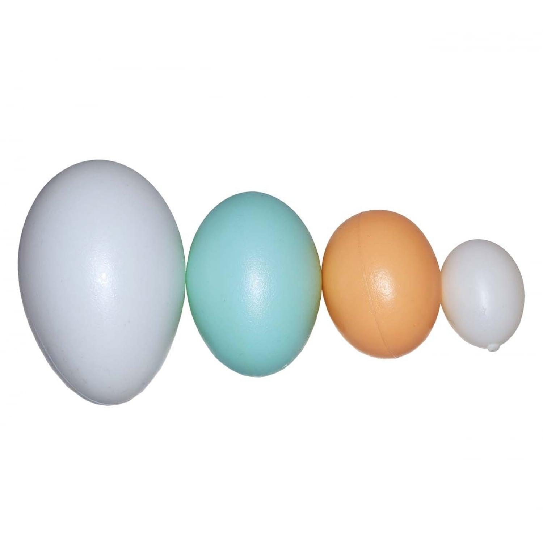 Пластиковое яйцо куриное