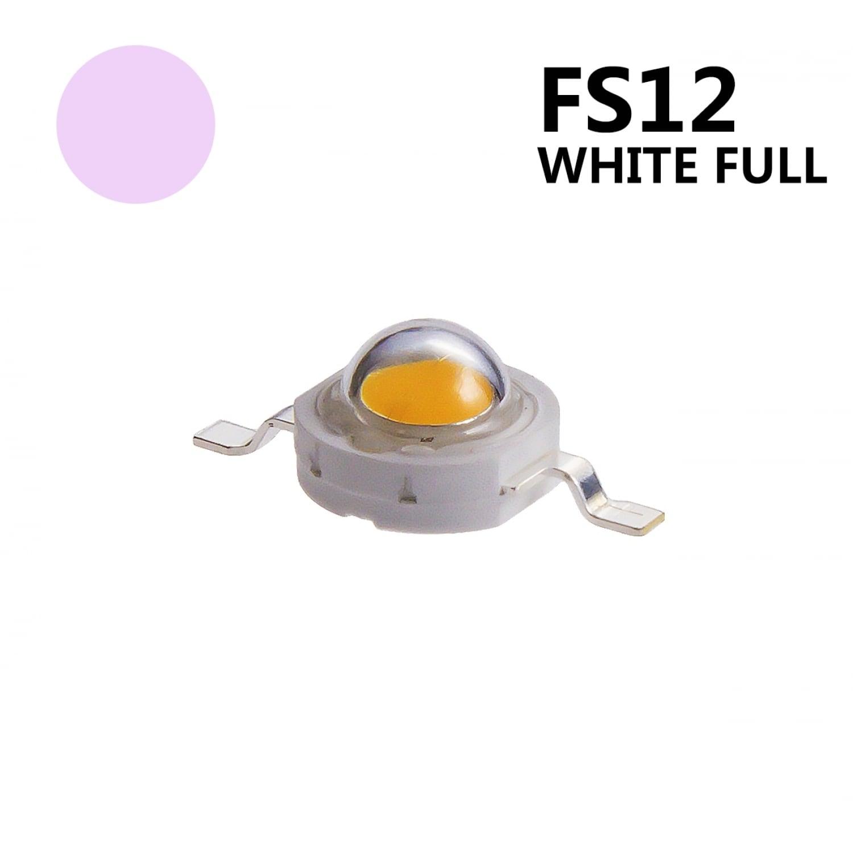 Светодиод для растений 3W спектр FS12 White Full
