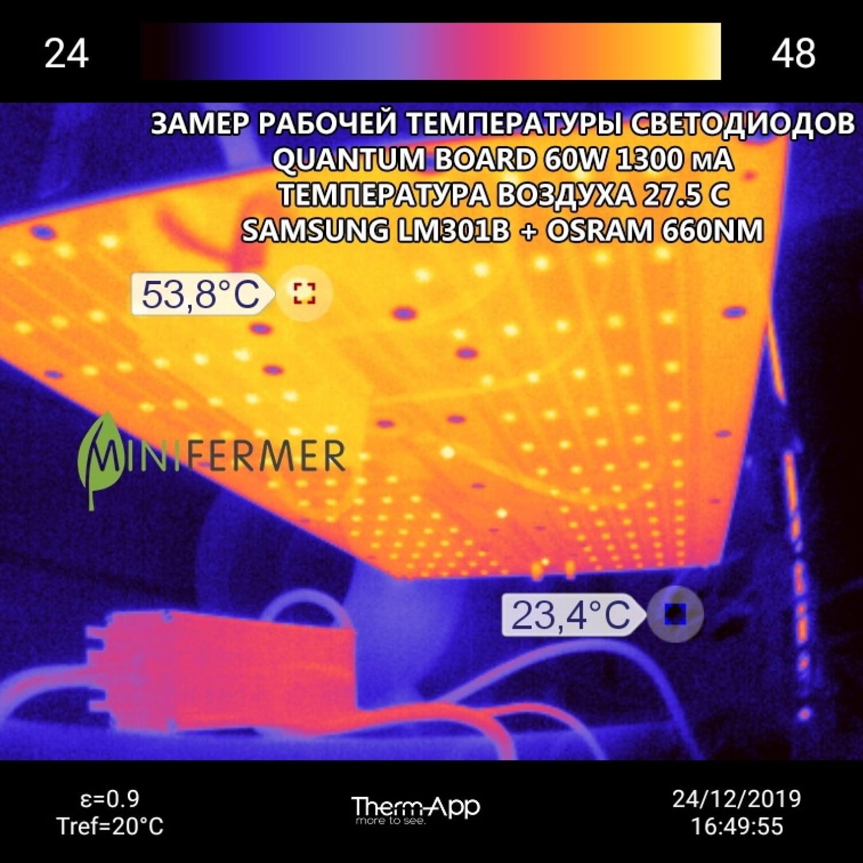 Quantum board Ver.2 Samsung smd3030 lm301b 3000K CRI 80 + Osram 660nm