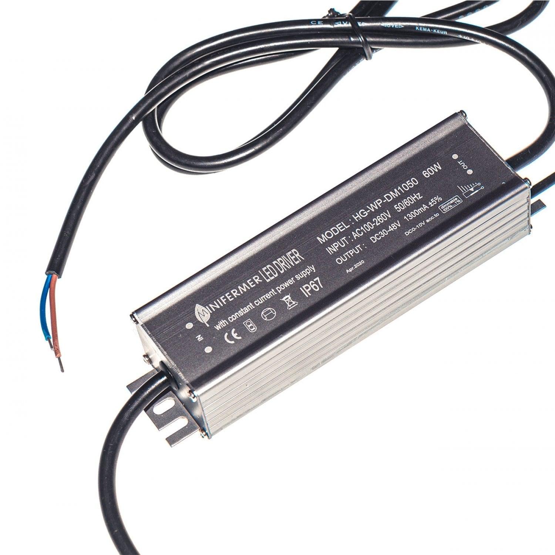 Драйвер для Quantum board 1300мА (IP65)  60W