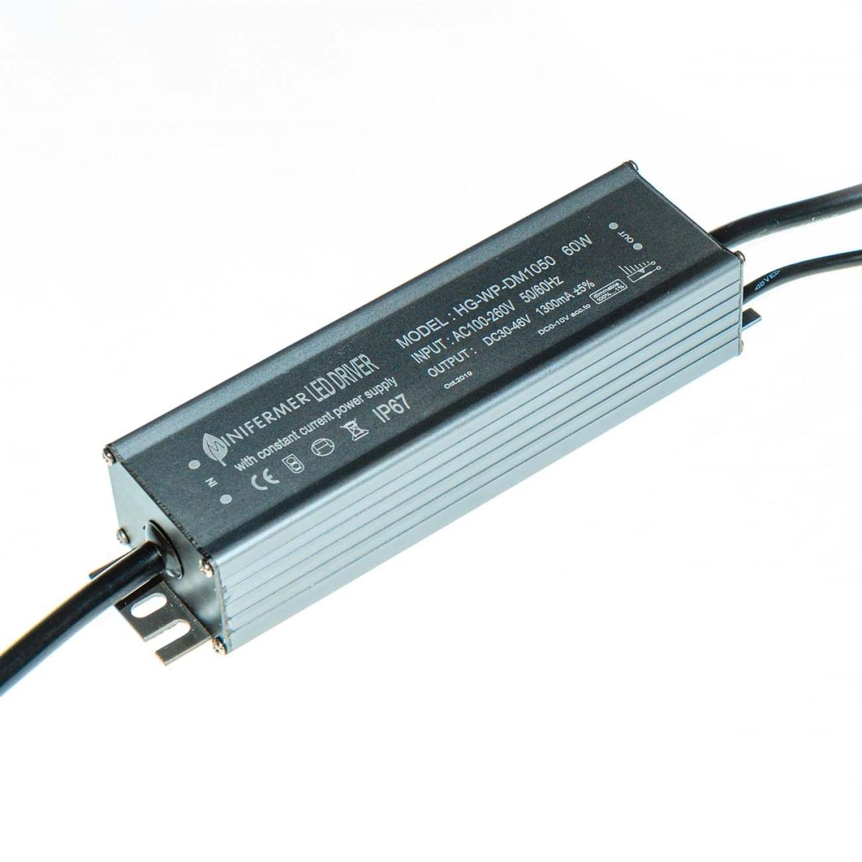 Драйвер c диммером для Quantum board 1300мА (IP65)  60W