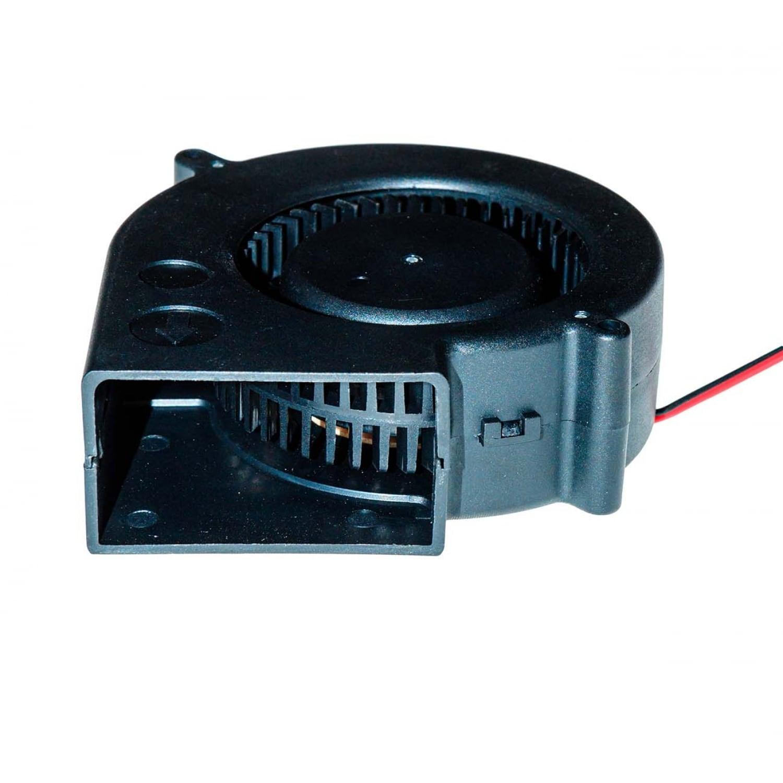 Вентилятор радиальный (центробежный) на подшипнике 97х97х33 мм 12Вольт.