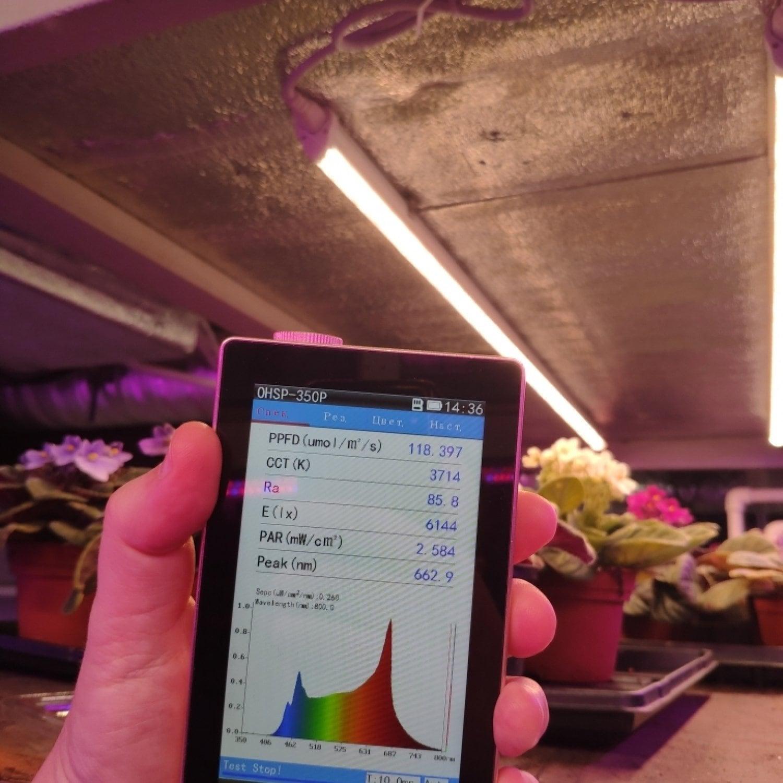 Фитолампа для растений линейная VA-3 120 см Биколор