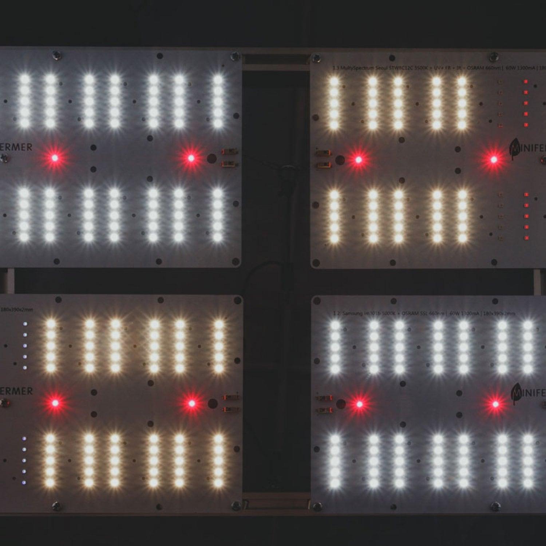 Готовый Quantum board 301B/Seoul 240 Ватт(60*4)  с диммируемым драйвером