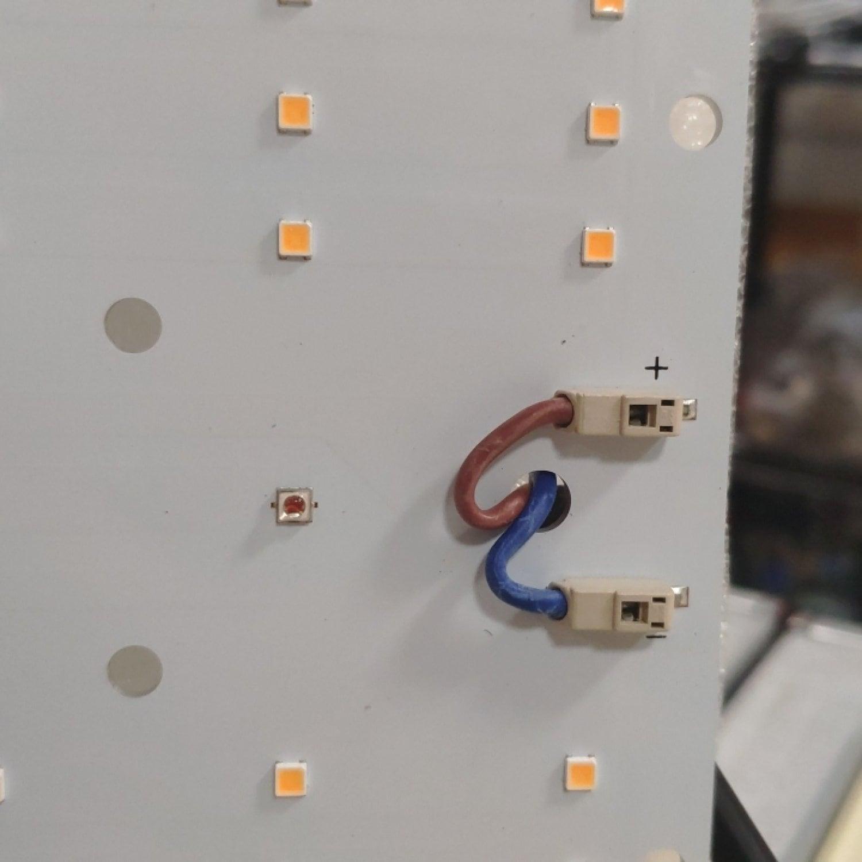 1.8 MULTI-RED Quantum board 180 х 390 Samsung lm301b 3500K + UV380+FR740 + OSRAM 660nm