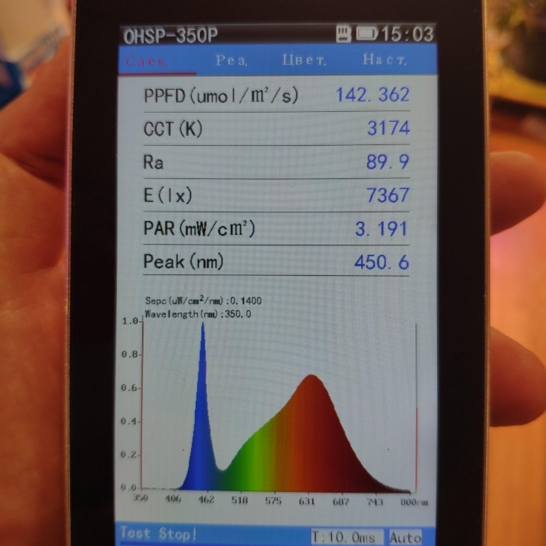 Фитолампа для растений линейная VA-3 90 см Фуллх3