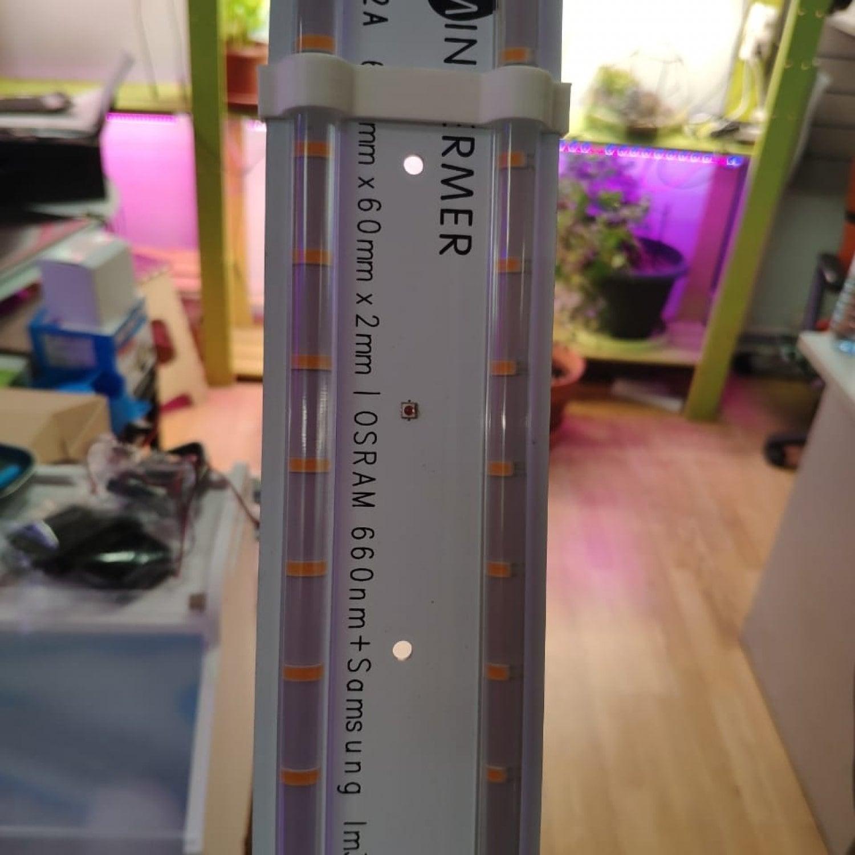 Линейная линза 80 см для smd модулей