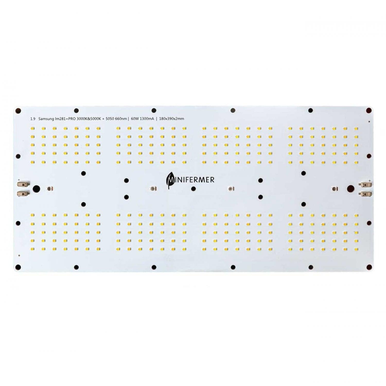 Готовый Quantum board 281B+pro 60 Ватт c диммируемым драйвером ver3