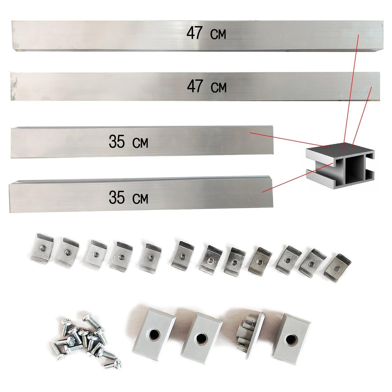 Комплект крепежных планок Х4 (4 по 60Вт)