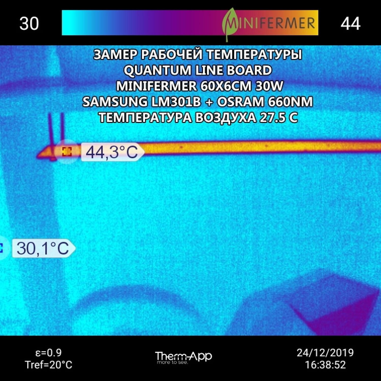 2.4 h Quantum line 1200 мм Samsung lm281b+pro 3000k+5000K + 660nm smd 5050