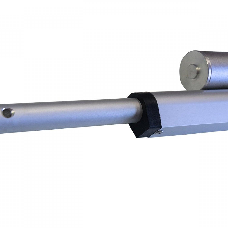Актуатор (линейный привод) длина 250 мм, питание 12 вольт , нагрузка до 100 кг, скорость 12 мм/сек