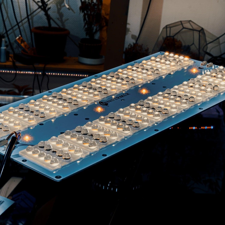Линза для Quantum board 90 градусов