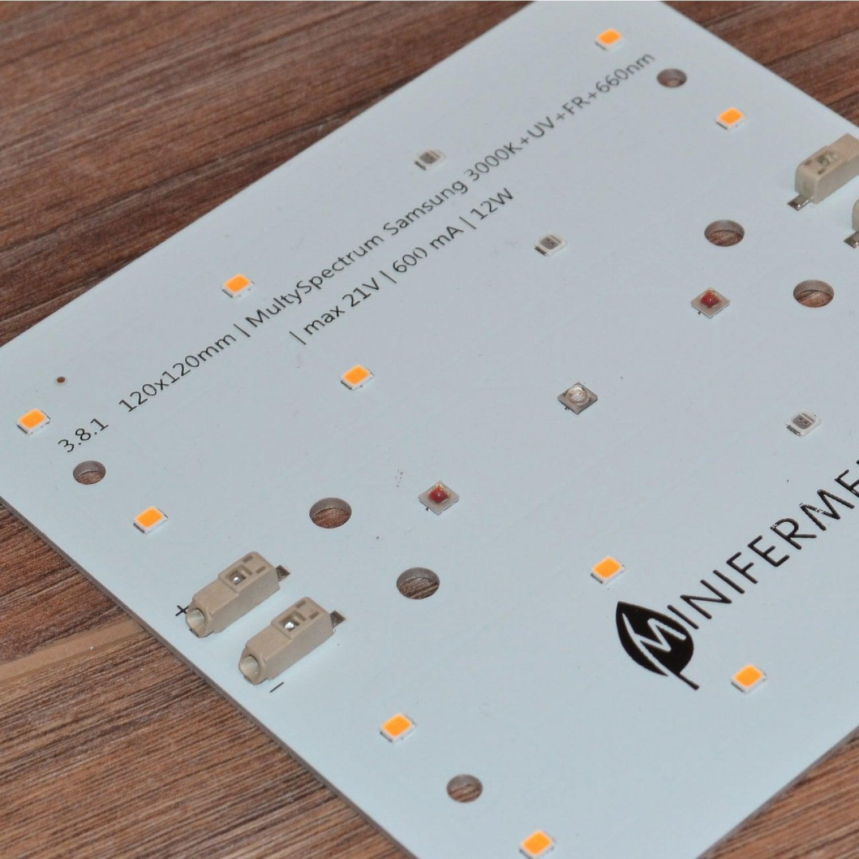 3.81 Quantum board Mini MultiSpectrum Samsung 3000K +660+UV+FR