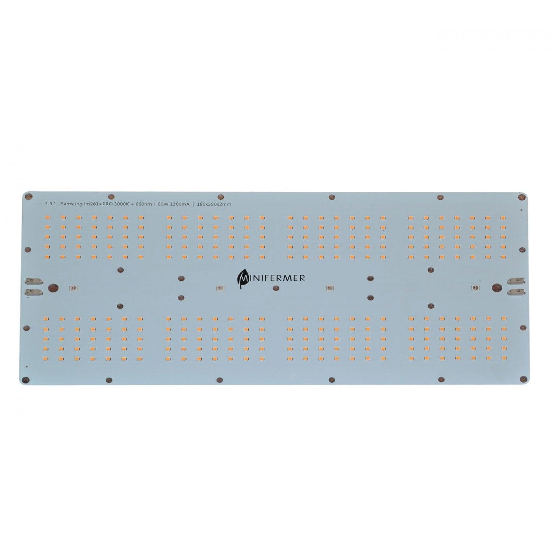 1.9.1 Quantum board 180 х 390 Samsung 2835 lm281b+pro 3000K + SMD 5050 660nm