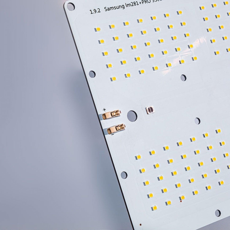 1.9.2 Quantum board 180 х 390 Samsung 2835 lm281b+pro 3500K + SMD 5050 660nm