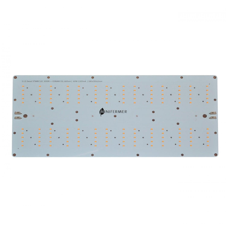 Уценка 1.1s Quantum board 180 х 390 Seoul 3000K + Osram SSL 660nm