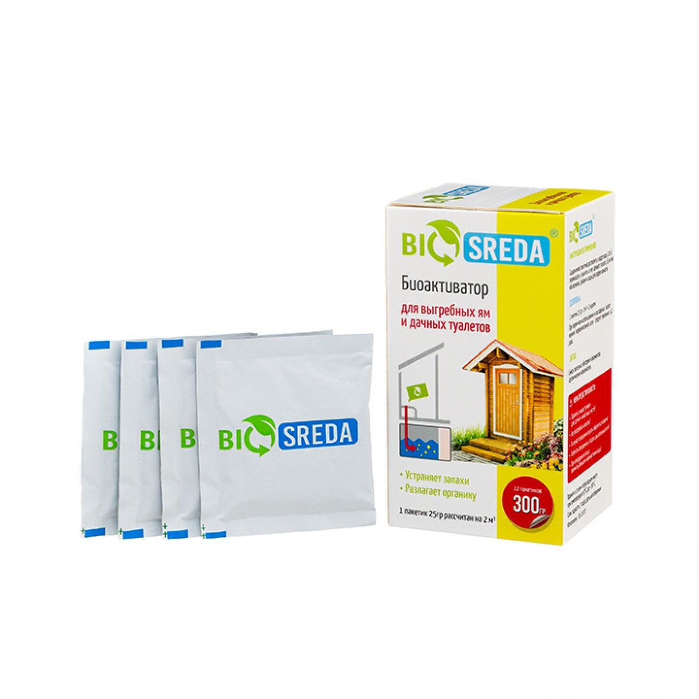 Биоактиватор для дачных туалетов и выгребных ям, 300 г