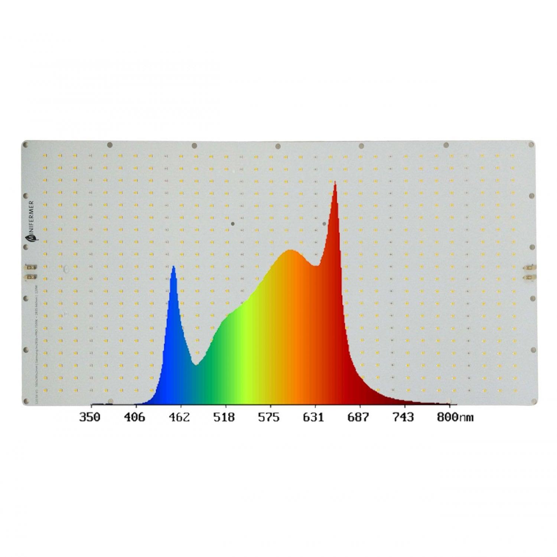 120.58 Quantum board 580 х 280 Samsung lm281b+pro  3500K + 660 nm 2835