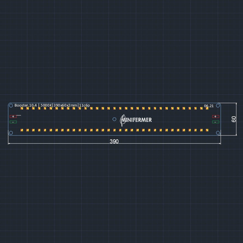 10.4  Booster line 390 мм 5000 K