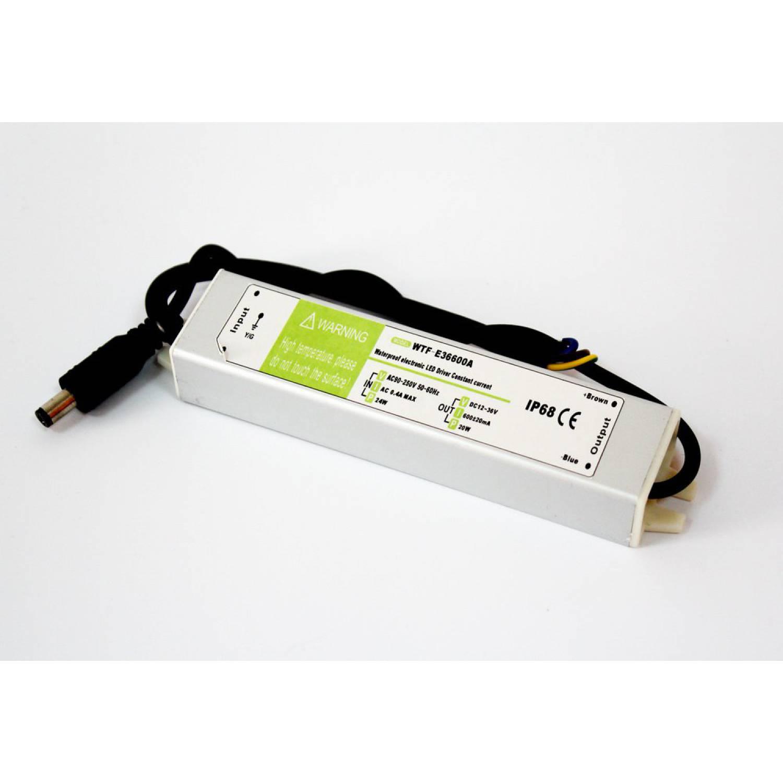 Драйвер для светодиодов 20W 600mA (WTF-E36600A)