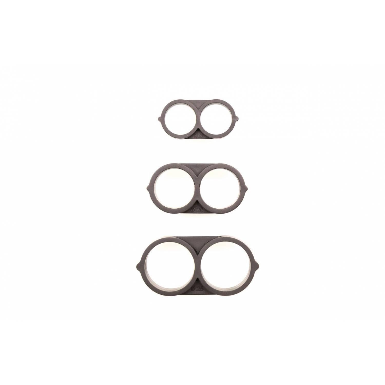 Заглушка восьмерка для садовых шлангов или трубок на 16мм