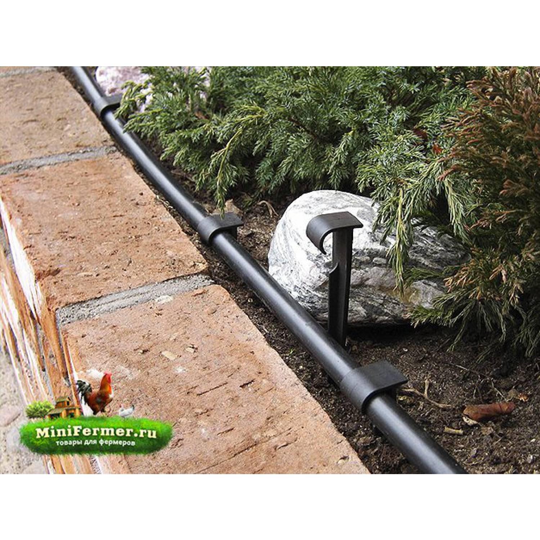 Колышек для капельных лент, садовых шлангов, трубок 16мм