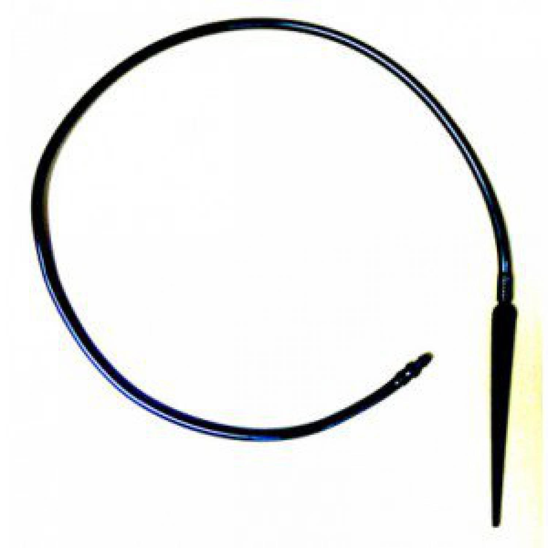 Капельница стрела прямая с поводком 60см и старт конектором