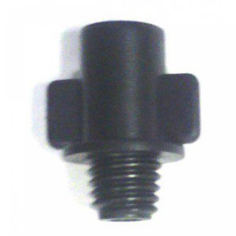 Плунжер-адаптер с резьбы на разъем 6мм для соединения микротрубок и миниспринклеров с трубой