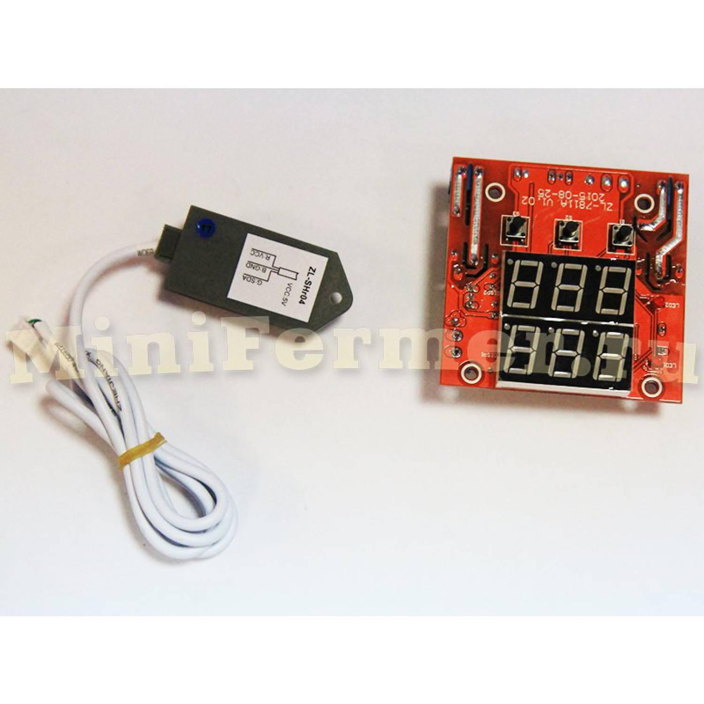Терморегулятор LILYTECH ZL-7811A  бескорпусной (темп + влажность)
