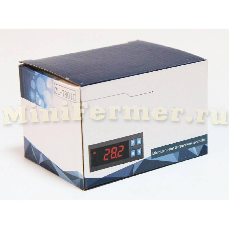 Терморегулятор LILYTECH ZL-7801C ТИП-1 (темп + влажность + 2 таймера)