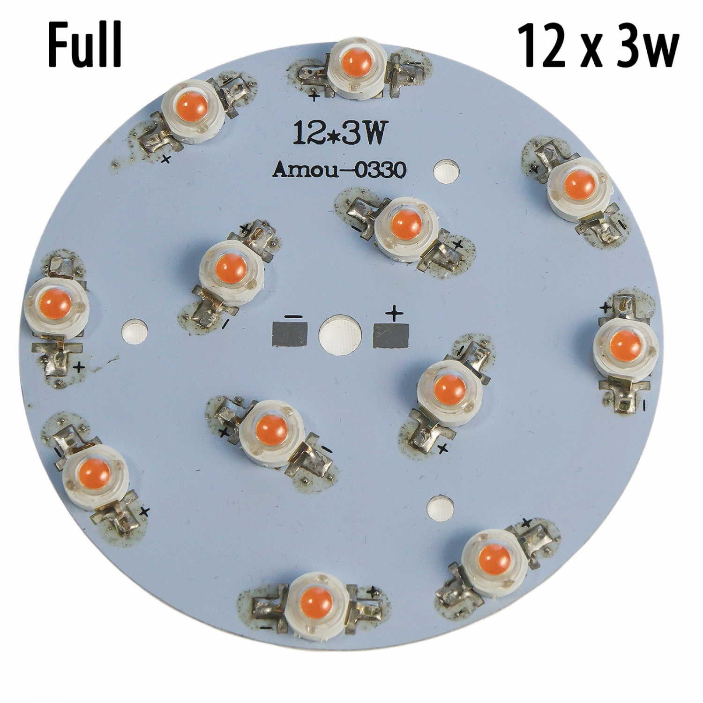 Модуль 12x3 Ватт Фулл спектр