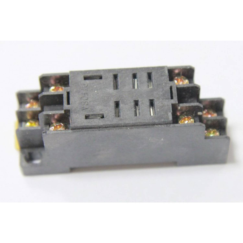 Электромагнитное реле 12в. Для коммутации любого тока (10А). С креплением на дин рейку.