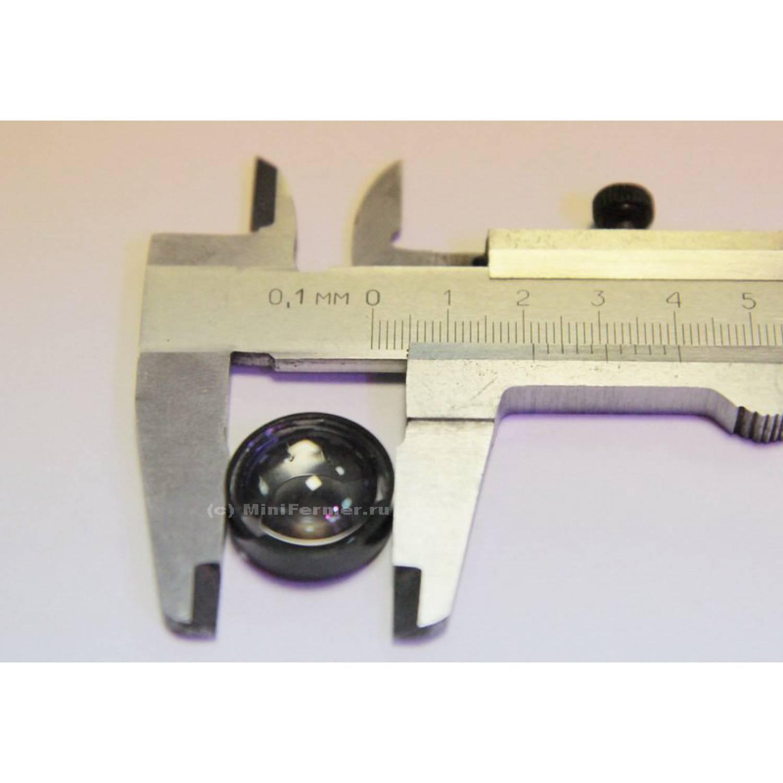 Линза для светодиодов 19,5мм 1-3W №4 60 градусов